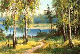 "Картина на холсте ""Дыхание природы"""