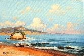 "Картина на холсте ""Берег моря"""