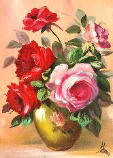 """Картина на холсте """"Сияние роз"""""""