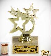 Кубок подарочный Танцующие звезды Менеджер года! 10см