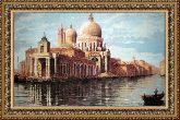 Венеция 70*110 Панно гобелен, двойной багет