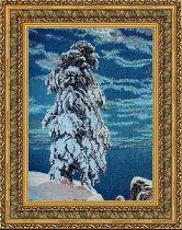 Северный ветер 50*65 Панно гобелен, двойной багет