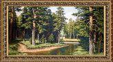 Вологодский лес 70*110 Панно гобелен, двойной багет