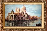 Венеция 70*110 Панно гобелен, багет 3016.5