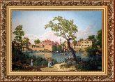 Голландский пейзаж 70*110 Панно гобелен, багет 3016.5