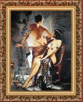 Афродита 50*65 Панно гобелен, багет 3016.5
