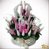 Букет цветов Голубки
