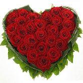 """Букет цветов """"Горячее сердце"""""""