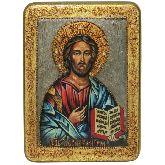 Господь Вседержитель, Аналойная икона, 21 Х29