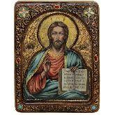 Господь Вседержитель, Живописная икона, 21Х29