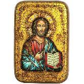 Господь Вседержитель, Настольная икона, 10 Х15