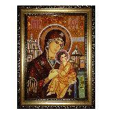 Грушевская Чудотворная икона с янтаря