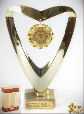 Кубок подарочный Сердце Супер теща!