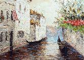 """Картина на холсте """"Венецианские гондолы"""""""