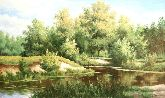 """Картина на холсте """"Шелест листвы"""""""