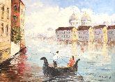 "Картина на холсте ""Венецианский гондольер"""
