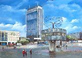 """Картина на холсте """"Площадь Александра"""""""
