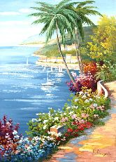 """Картина на холсте """"Лето Море Солнце"""""""