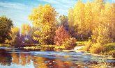 """Картина на холсте """"Осенние краски"""""""