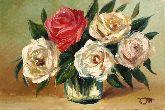 """Картина на холсте """"Букет роз"""""""