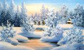 "Картина на холсте ""Вечер перед Рождеством"""