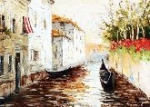 "Картина на холсте ""Канал в Венеции"""