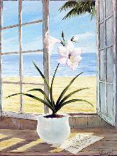 """Картина на холсте """"Белые лилии"""""""