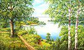 """Картина на холсте """"Магия леса"""""""