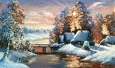 "Картина на холсте ""Мороз и солнце"""