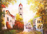 "Картина на холсте ""Осень. Рождественка"""