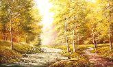 """Картина на холсте """"Осеннее утро"""""""
