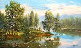 """Картина на холсте """"Дремучий лес"""""""