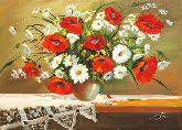 """Картина на холсте """"Полевые цветы"""""""