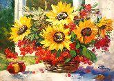 "Картина на холсте ""Солнечное настроение"""