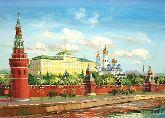 """Картина на холсте """"Москва"""""""