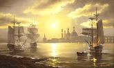 """Картина на холсте """"Венецианский закат"""""""