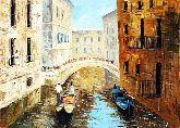 """Картина на холсте """"Венецианский мотив"""""""
