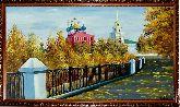 Храм у моста, осень
