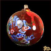 Ёлочный шар из Италии Коралловые острова