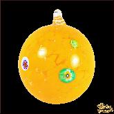 Ёлочный шар из Италии Солнечная дыня