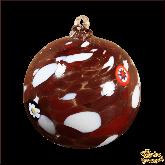 Ёлочный шар из Италии Бордо