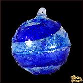 Ёлочный шар из Италии Голубое небо