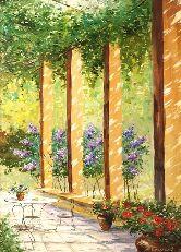 """Картина на холсте """"Летняя красота"""""""