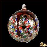 Ёлочный шар из Италии Вишнёвый джем