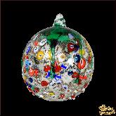 Ёлочный шар из Италии Яблочный микс