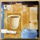 Утренний кофе, картина, Модерн натюрморт №13