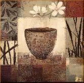 Чаша и цветок, картина, Модерн натюрморт №54