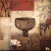 Декоративная ваза, картина, Модерн натюрморт №55