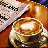 Утренний эспрессо, картина, Модерн натюрморт №58