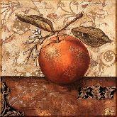 Спелый апельсин, картина, Модерн натюрморт №63